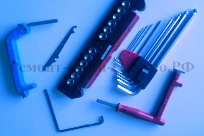 Набор инструмента для регулировки, переделки и иной работы