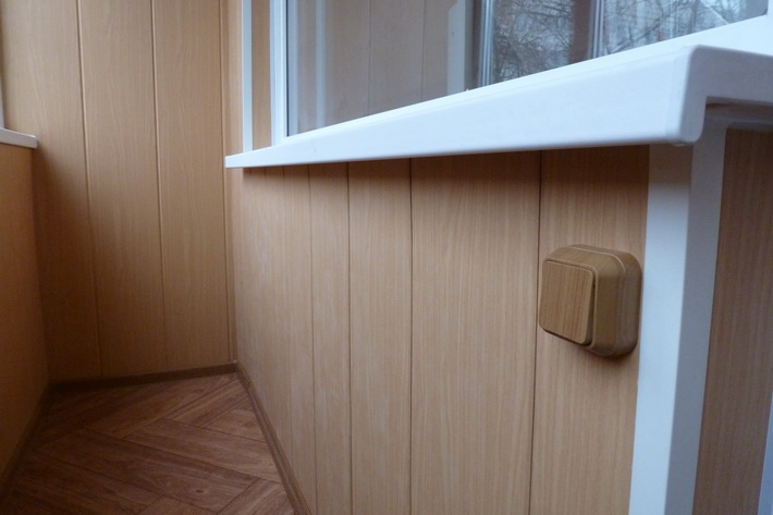 Внутренняя отделка пластиковыми панелями своими руками