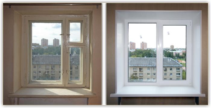 Ремонт откоса окна