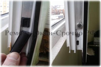 регулировка и ремонт алюминиевых окон