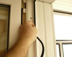 ремонт пластиковых окон замена уплотнителя