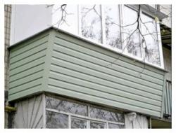обшивка балконов обшивка балкона сайдингом 7(926)990-23-23 с 9:00 до 22:00
