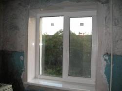 окна пластиковые отделка
